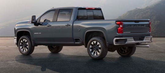 All-new. The 2020 Chevy Silverado Heavy Duty shares only a roof with its Silverado light duty sibling.