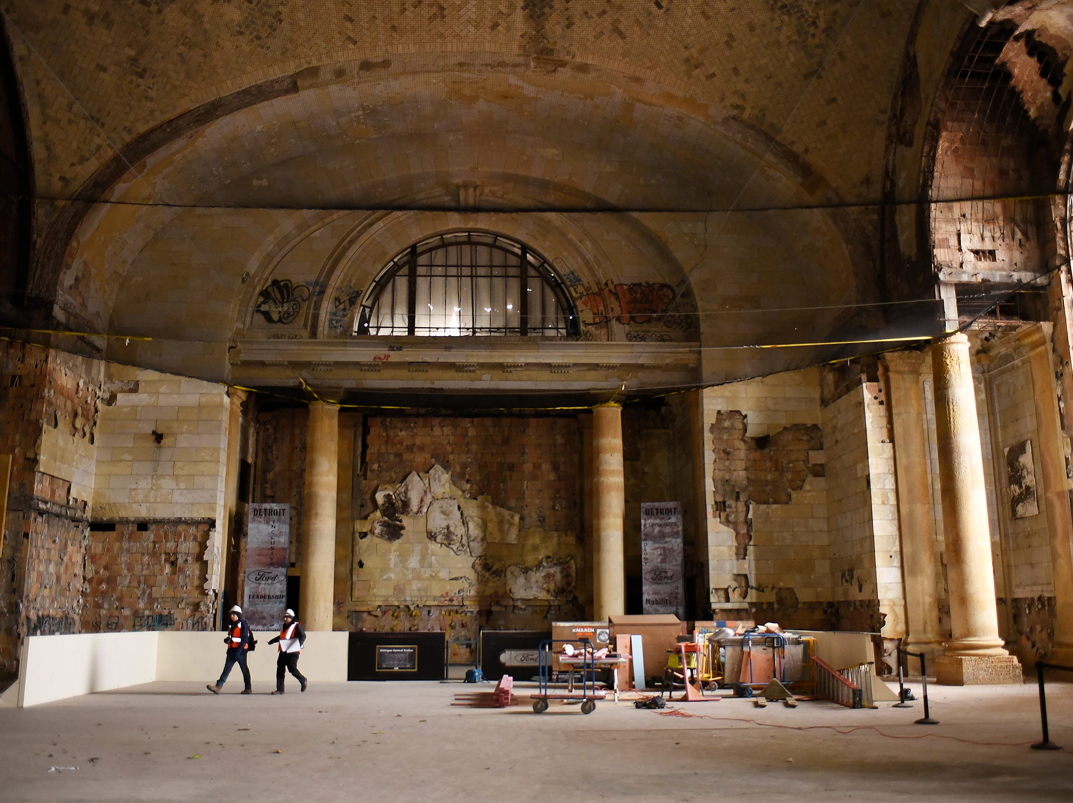Ford begins first phase of construction at Michigan Central Depot