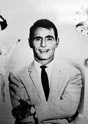 """A publicity photo of Rod Serling during the """"Twilight Zone"""" period."""