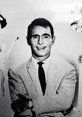 "A publicity photo of Rod Serling during the ""Twilight Zone"" period."