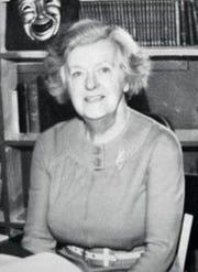 Helen Foley, the Binghamton Central High School teacher who inspired Rod Serling.
