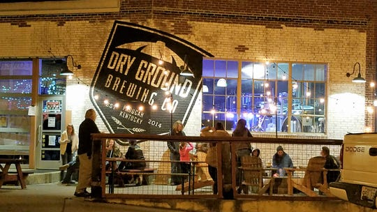 Dry Ground Brewing Co. in Paducah Ky. is located in a former Coca-Cola bottling plant.