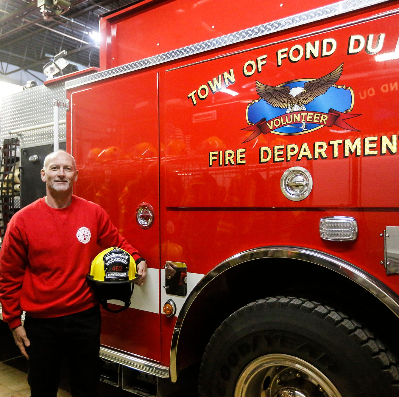 Town of FDL volunteer firefighters seek new helmets through GoFundMe