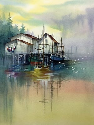 The Port Clinton Artists' Club will again hold a Mark Polomchak Watercolor course in January.