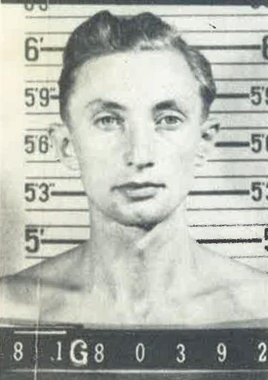Colorado Nazi fugitive Georg Gaertner Mug