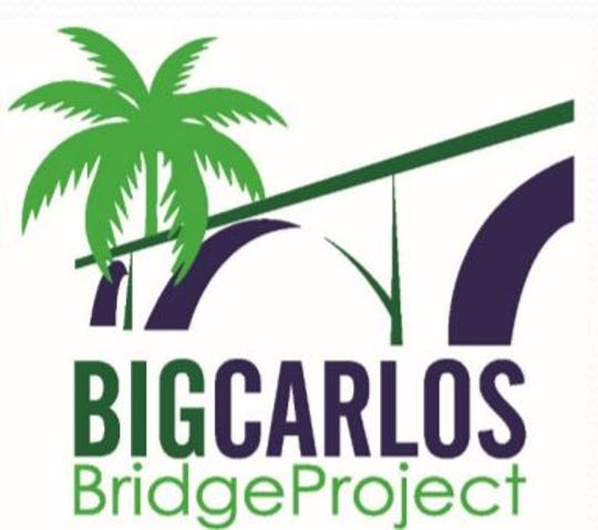 Lee County logo for the Big Carlos bridge replacement project.  Construction work could begin in the 2021-22 budget year.