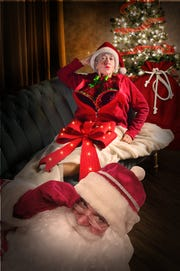 """A publicity photo for """"Deadly Sugarplums: A Fright Before Christmas"""" at The Center for Performing Arts Bonita Springs"""