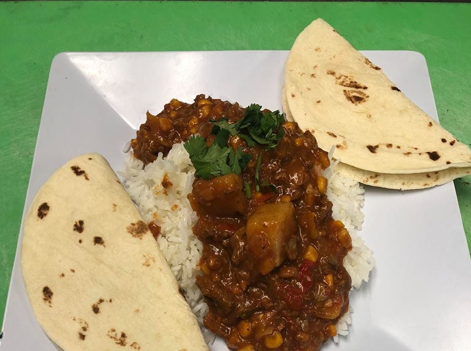 Picadillo from Longoria's Bistro. Longoria's offers a variety of Mexican and American dishes in San Carlos Park.