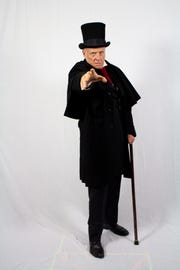 "Peter Thomasson plays Scrooge in Florida Rep's ""A Christmas Carol: The Tale of Ebenezer Scrooge"""