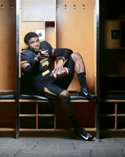 Former Clemson QB Kelly Bryant poses during a recruiting visit to Missouri. The Tigers are one of the five finalists Bryant will chose from on Tuesday, Dec. 4, 2018.