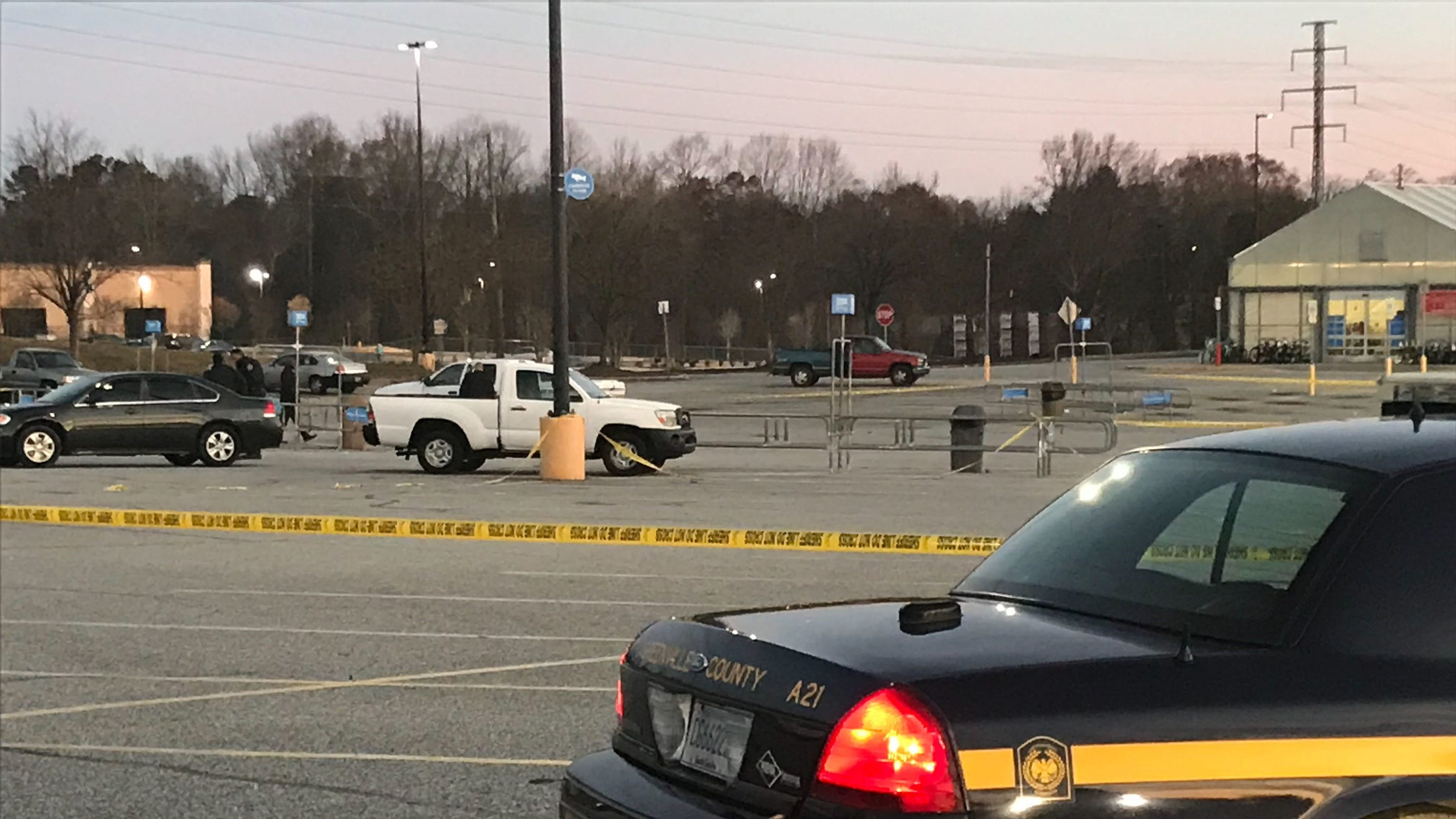 Death reported outside greenville county walmart