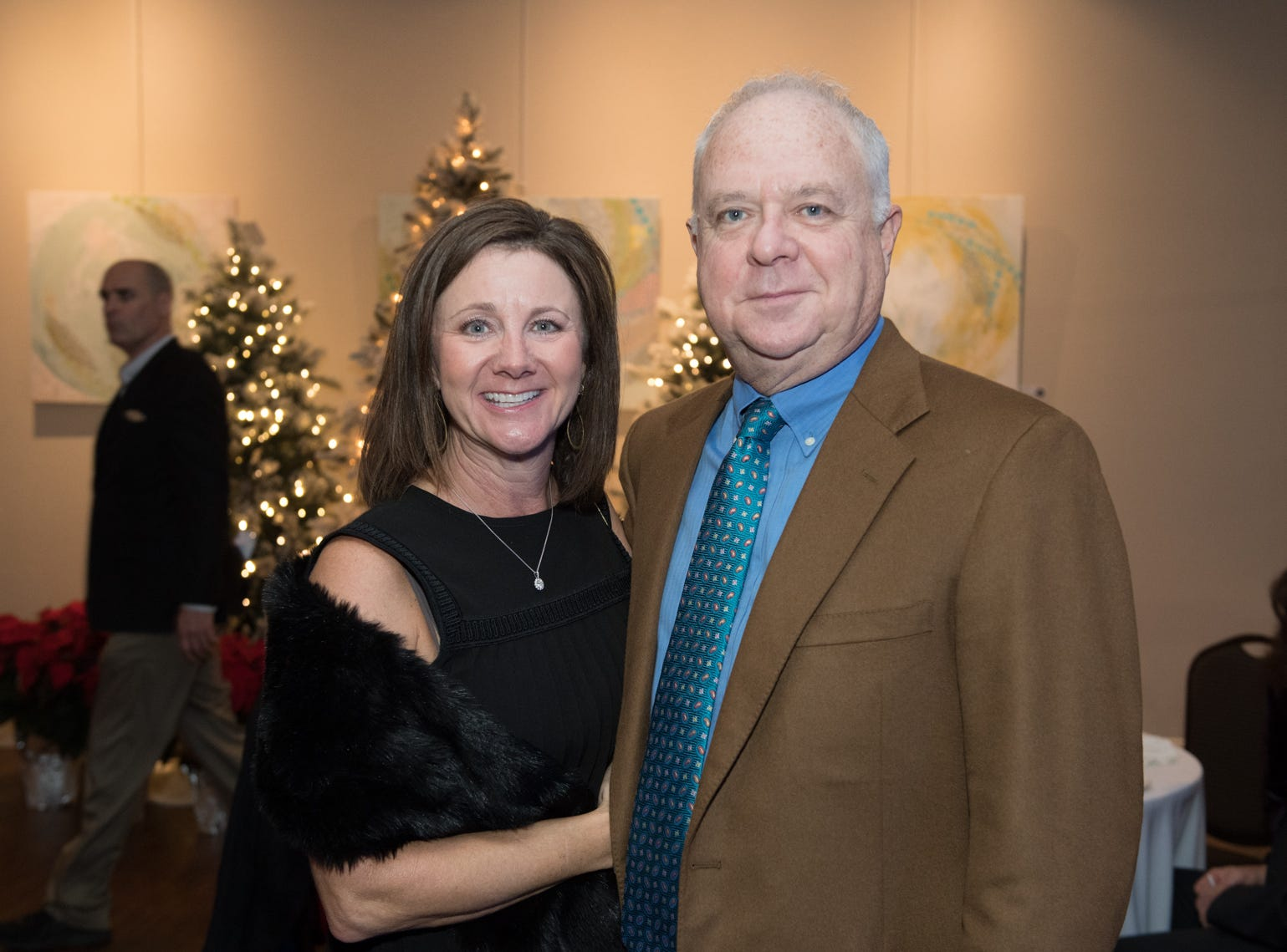 The 2018 official kick-off party for the St. Francis Festival of Trees put everyone into the holiday spirit. The gorgeous collection of trees decorated from wonderful sponsors across the upstate was presented by the St. Francis Foundation. The event featured heavy hors d'oeuvres, specialty drinks and cocktails and live music. All proceeds will benefit the St. Francis Chest Pain Center.