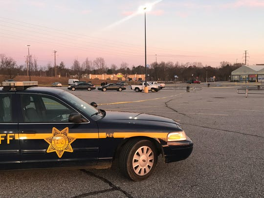 Authorities worked a death investigation outside a Greenville County Walmart Tuesday morning.