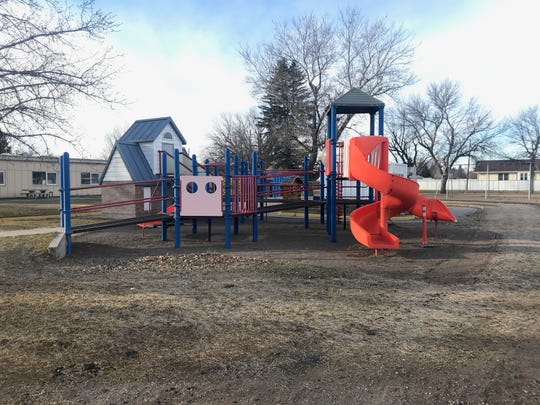 Montana School for the Deaf and the Blind Playground