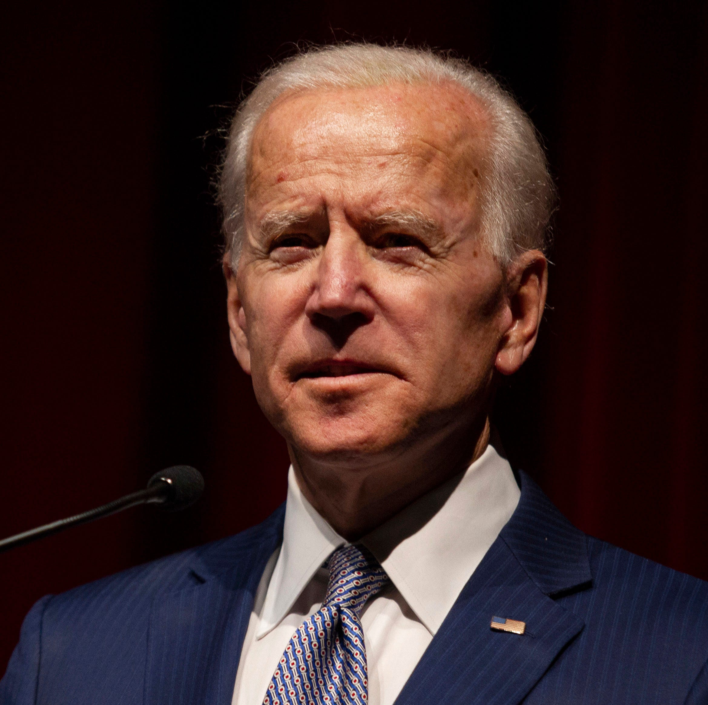 Biden says he's the most qualified person to be president at University of Montana talk