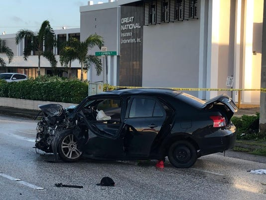 Fatal crash in Tamuning