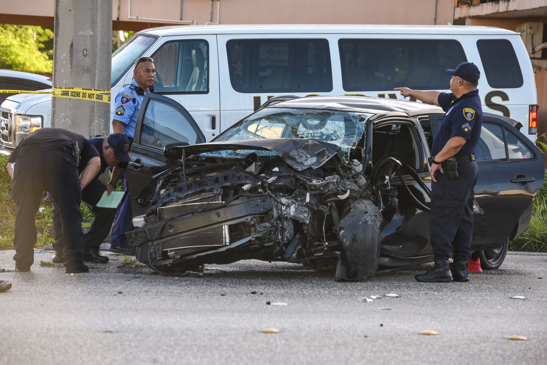 Man dies in Tamuning crash
