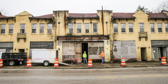 An upgrade the Rivoli Theatre's marquee and planning for how to revitalize it is part of more than $4 million that an artist-centered project, called 10 East Art & Design District, will receive from the Lilly Endowment.