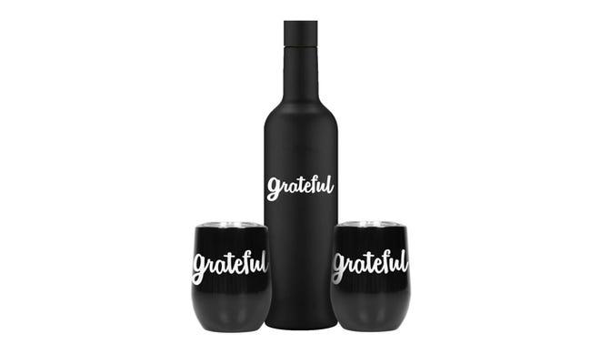 Grateful wine set