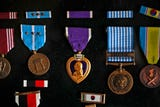 Curtis Willis was a medic during the Korean War.  He saved lives and was honored as a two-time Purple Heart recipient.