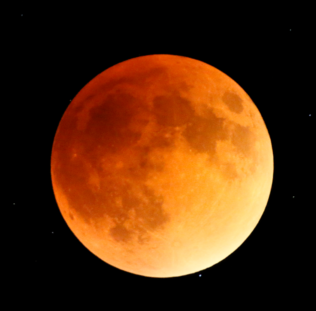 'Super blood wolf moon' should be visible Sunday night after cool front moves through