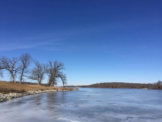 Lake Darling State Park is shown on Feb. 25, 2018.
