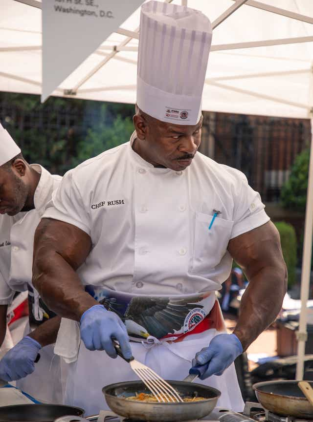 Chef Andre Rush Columbus Ms Native Cooks For Trump At