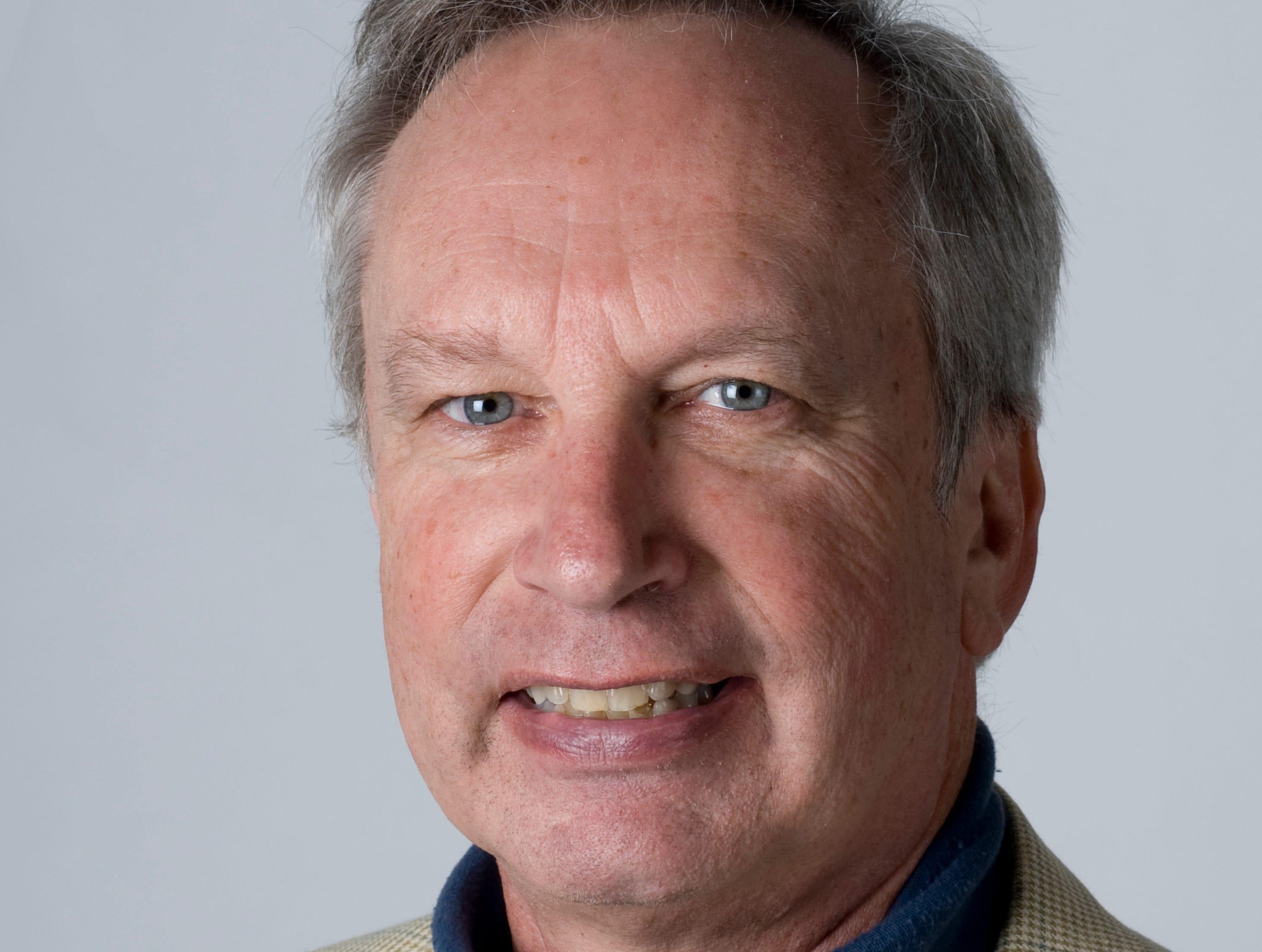 John Adams, KNS sportswriter, 2009.