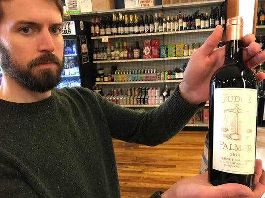 At $50 a bottle, Judge Palmer California cabernet compares well to wines at twice the price, according to D.L. Bergmeier, general manager of Downtown Wine + Spirits on South Gay Street.