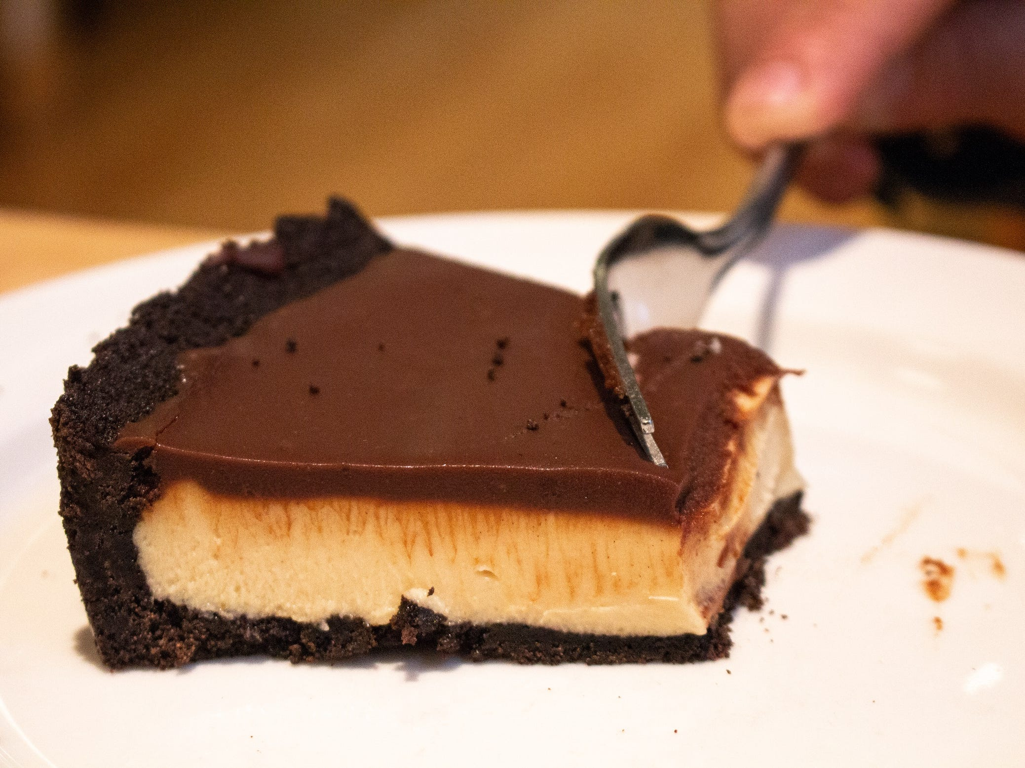 Chocolate peanut butter pie from The Tomato Head.