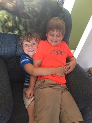 Braylon Riddle-Miller, 5, and brother Braxton, 7, have both been diagnosed with autism, which their mother says has resulted in aggressive behavior in their elementary classrooms in Howell.