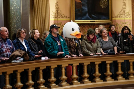 Lame Duck Protest 7