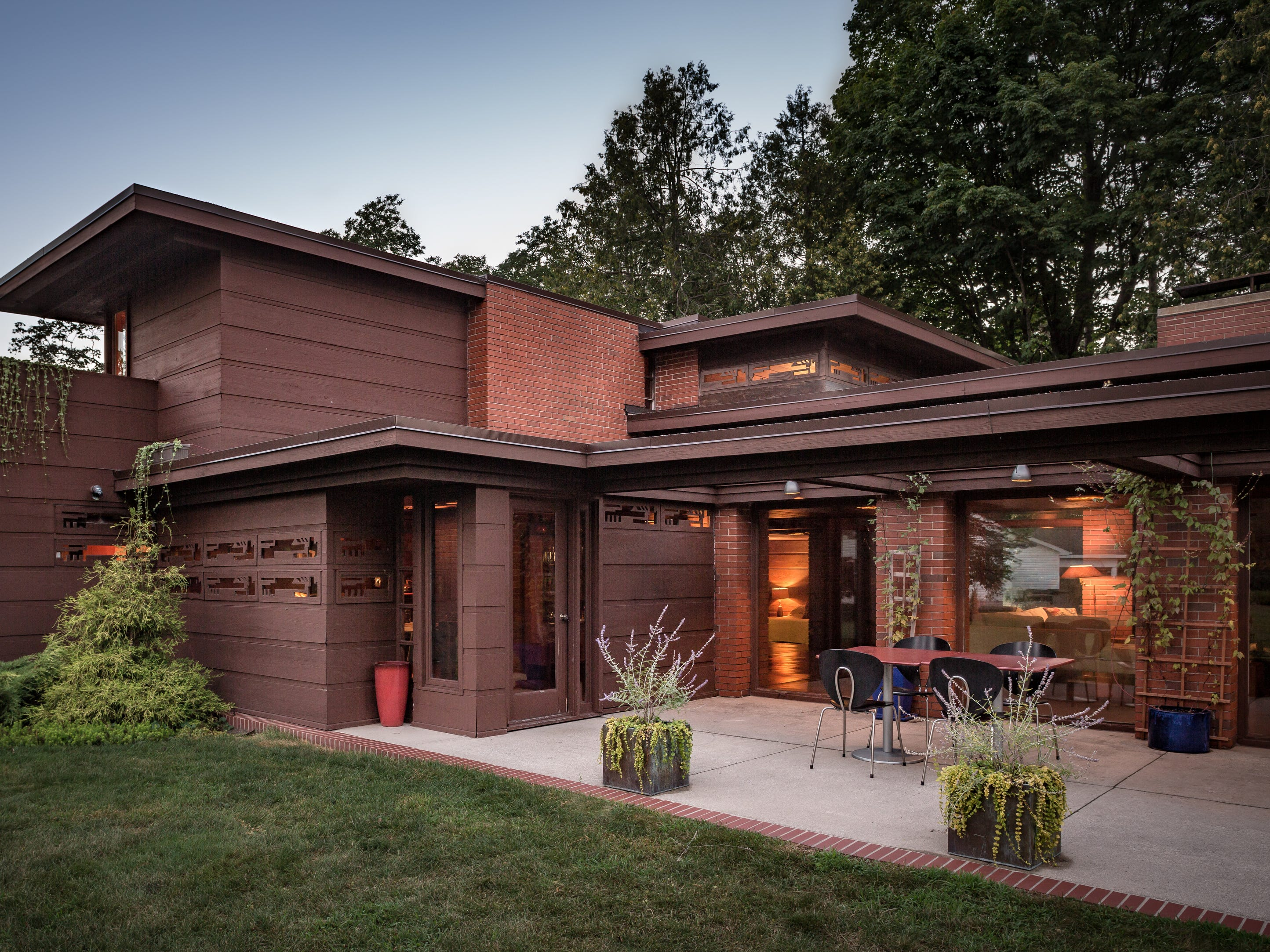 In Two Rivers, Still Bend home offers live-in glimpse of Frank Lloyd Wright's genius