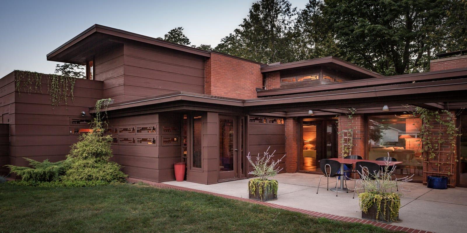 Frank Lloyd Wright S Still Bend Home In Wisconsin Is Open To Public