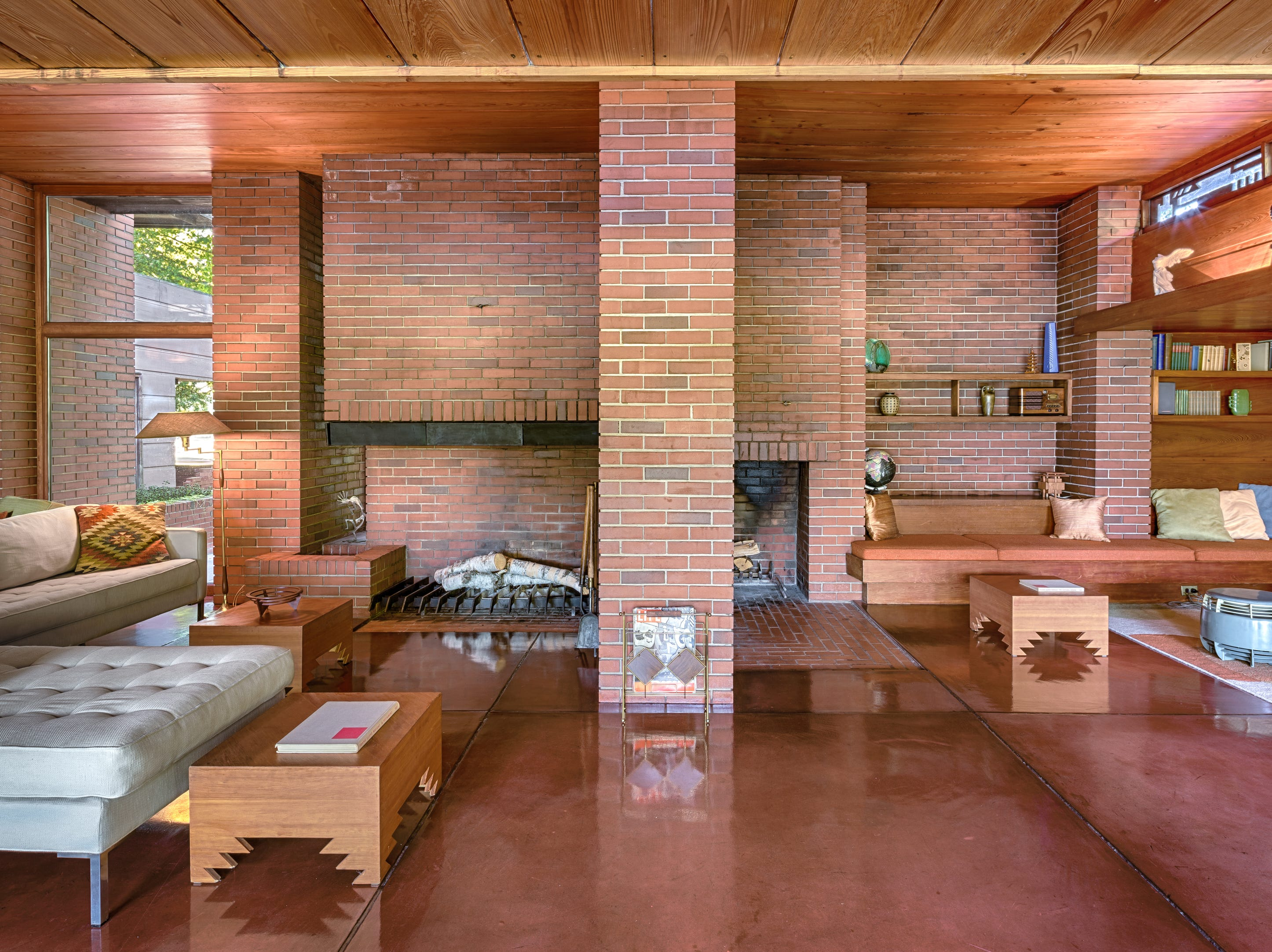 Still Bend, also known as Frank Lloyd Wright's Bernard Schwartz House, is located in Two Rivers.