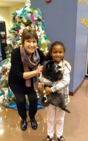 The first place winner was Savannah Assent ofHarrison Elementary. Herdog's name is Katie.