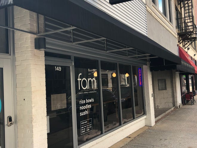 Fam restaurant is one of the newest additions to the downtown dining scene, located at 149 Madison Ave.