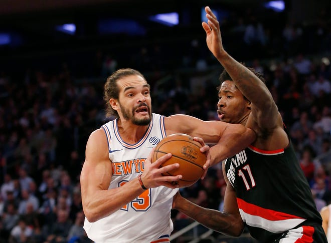 Joakim Noah was waived by the Knicks in October.