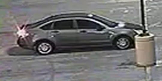 Shaun Hamblen was last seen entering this vehicle, a gray four-door Ford Focus.
