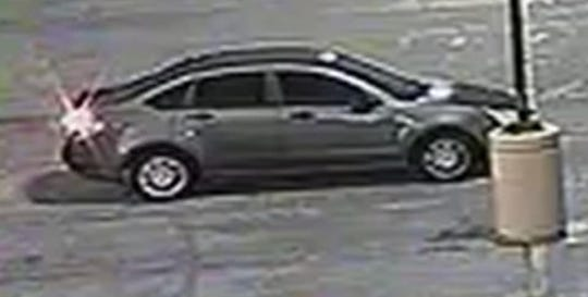 Shaun Hamblen was last seen entering this vehicle, a gray four-door Ford Focus.