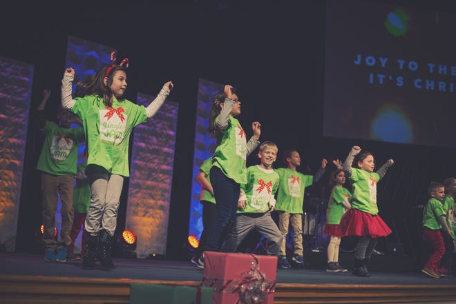 Jingle Jam at Crosspoint Community Church in Oconomowoc tells the story of Christmas but in a fun, interactive way with songs and games for all ages.
