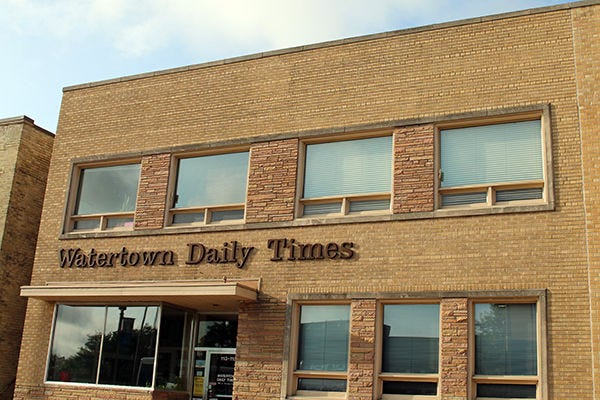 The Watertown Daily Times, in downtown Watertown,  was founded in 1895.