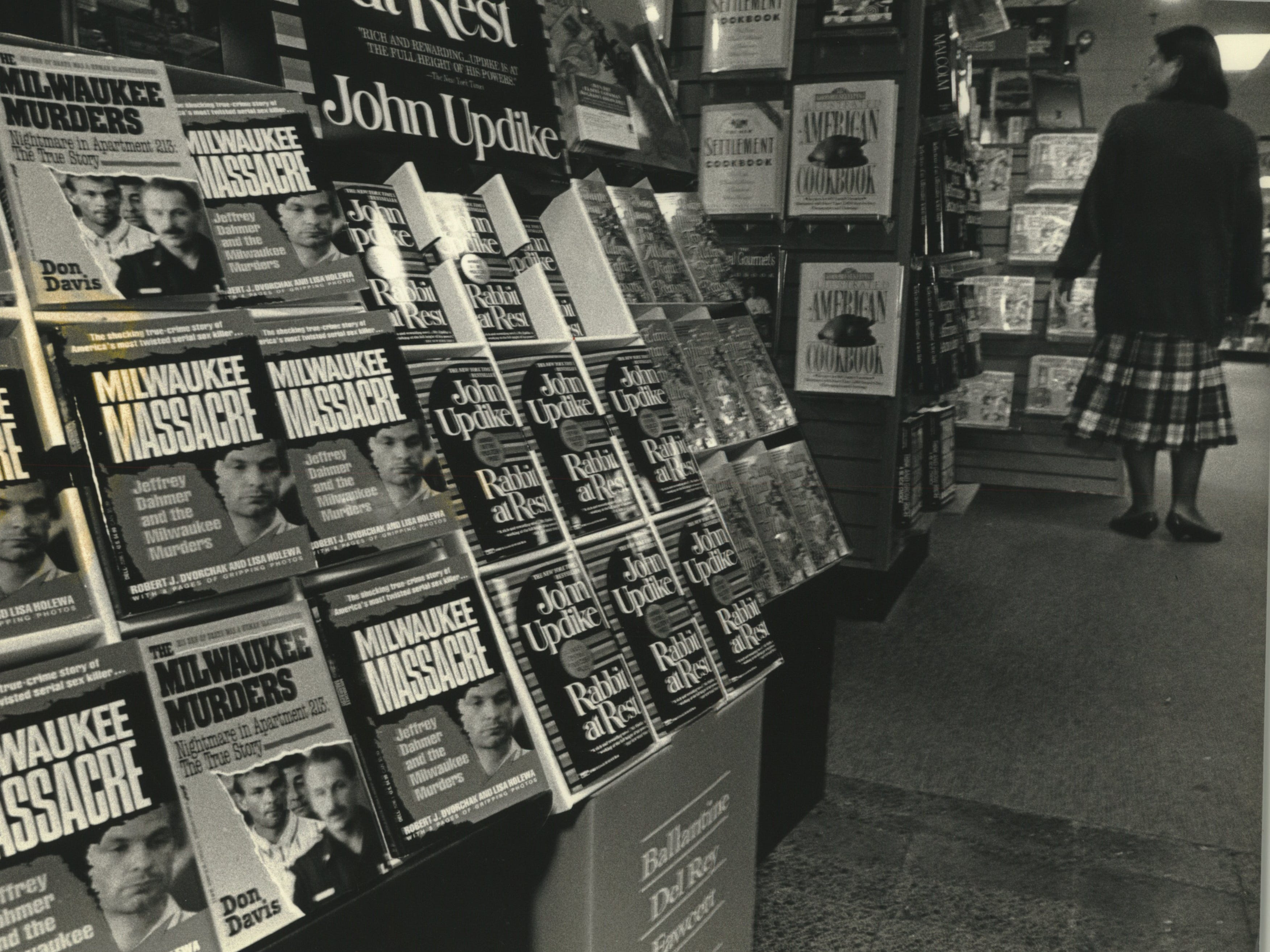 The shelves at Waldenbooks in The Grand Avenue Mall are lined with two new books on the Jeffrey L. Dahmer murder case. Sales there and at other book stores have been steady, managers say. Jeffrey L. Dahmer - Miscellaneous. September 25, 1991.