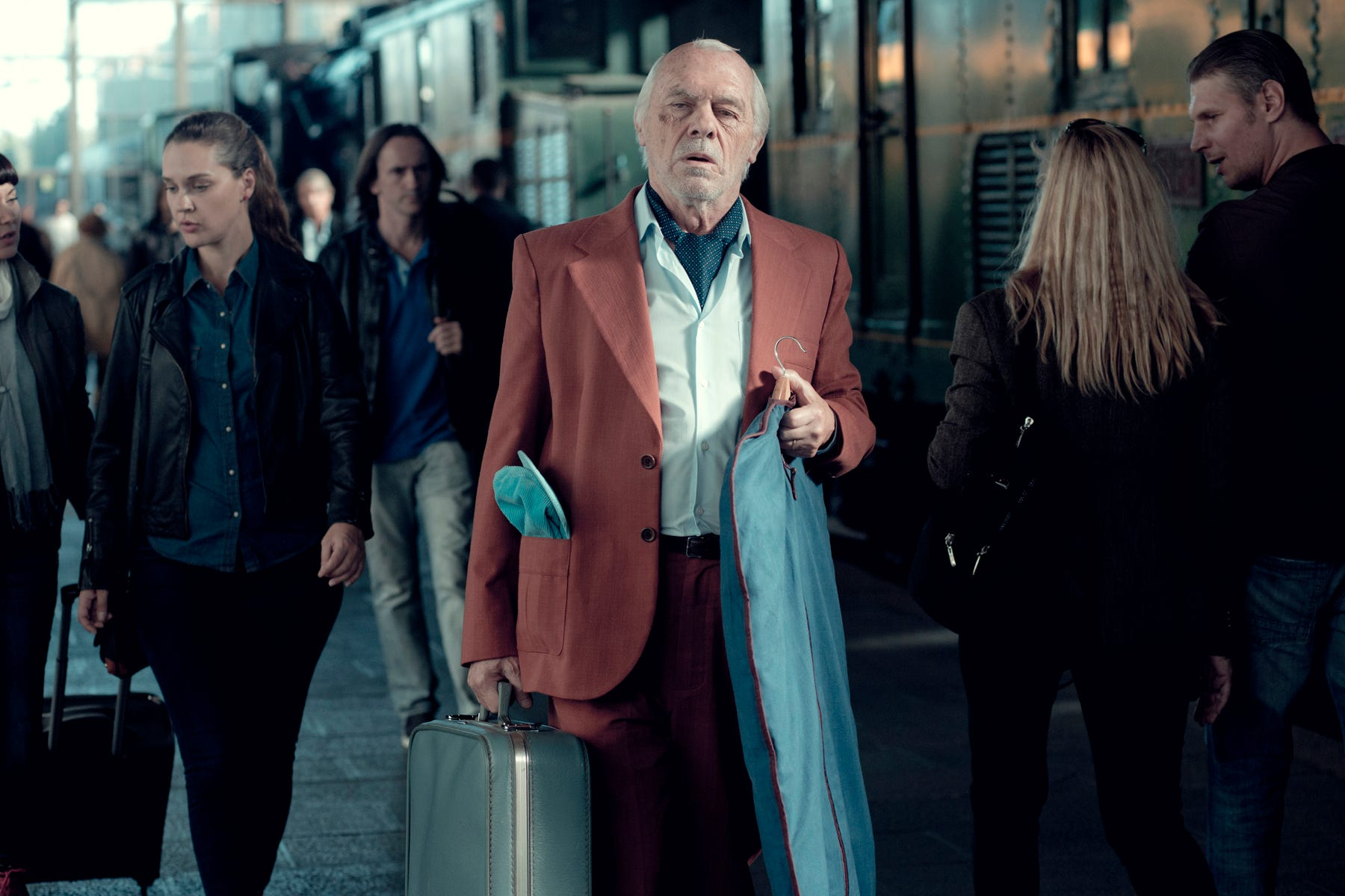 """Miguel Ángel Solá plays a Holocaust survivor determined to keep a 70-year-old promise in """"The Last Suit."""""""