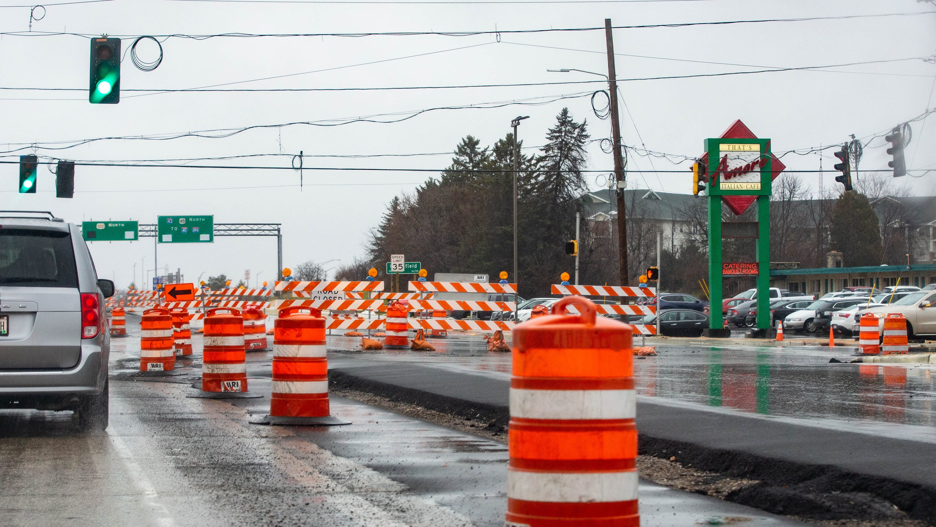 Milwaukee traffic: Current construction projects, road