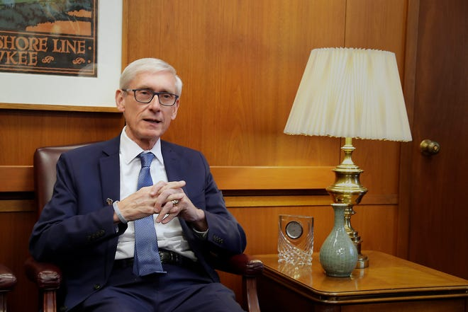 Gov.-elect Tony Evers during a recent appearance in Milwaukee.