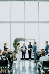 Venue 42's modern design offers a clean canvas that can be personalized by décor.