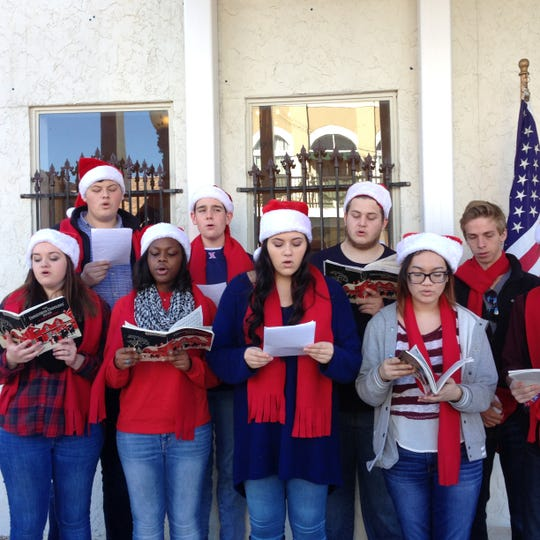 The Awesome Carolers will perform Saturday at Antique Alley.
