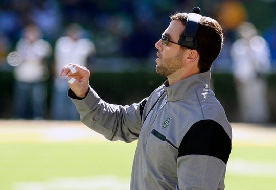 Former Baylor offensive coordinator Kendal Briles, who now has the same job at Houston.