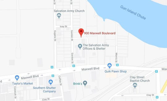 Stephen Hamby was shot to death in the 900 block of Maxwell Boulevard.